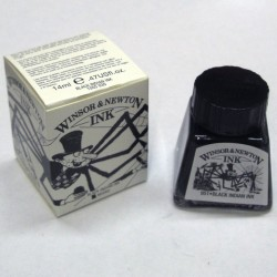 Tinta negra - Winsor & Newton
