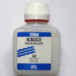 Medium brillante acrílico 100ml - TITAN