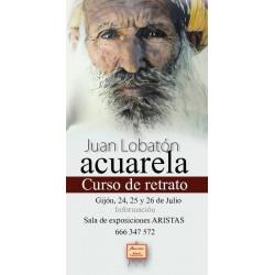 Curso de Retrato en Acuarela - Juan Lobatón