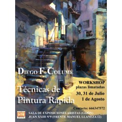 Workshop de Pintura Rapida - Diego Columé