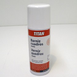 Spray Barniz Mate 400ml - TITAN