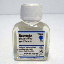 Esencia Petroleo Rectificada 100ml - TITAN