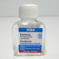 Esencia Trementina Rectificada 100ml - TITAN