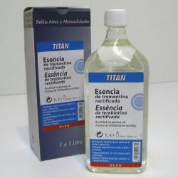 Esencia Trementina Rectificada 1000ml - TITAN