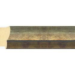 Moldura clásica oro con filo mas oscuro - 30x65mm