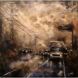 Andrés Vijande - Oleo sobre lienzo