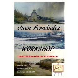 Workshop de Acuarela - Juan Ramón Alves Fernández