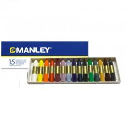 Pack de ceras blandas 15Uds - Manley