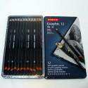 Pack de 12 lapices de dibujo - Derwent