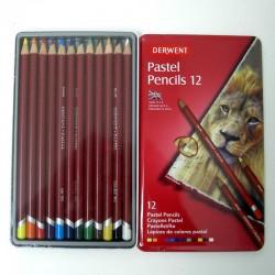 Pack de 12 lapices pastel - Derwent