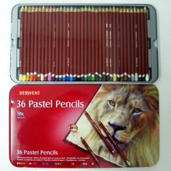Pack de 36 lapices pastel - Derwent