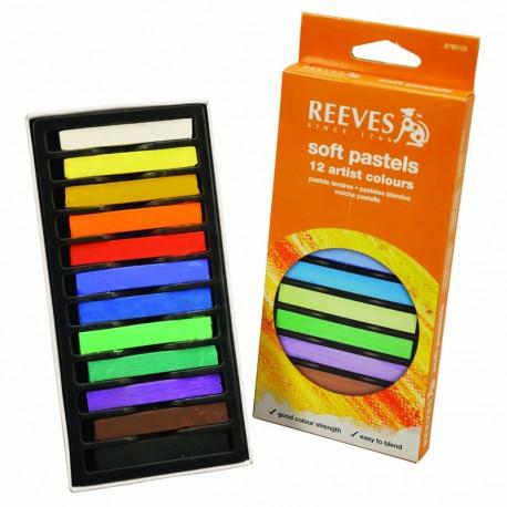 Pack de 12 pasteles en barra - Reeves