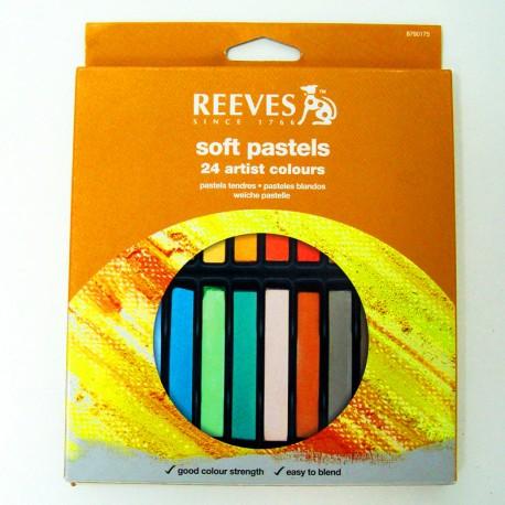 Pack de 24 pasteles en barra - Reeves