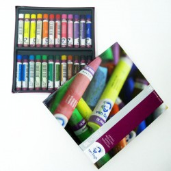 Pack 24 barras pastel al óleo - Van Gogh, Talens