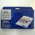 Caja acuarelas 1/2godets 16+3x8ml - Winsor & Newton
