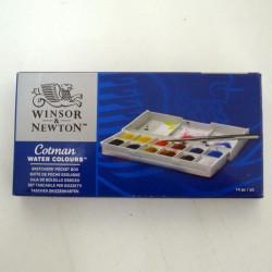 Caja acuarelas Sketchers 12 1/2godet - Winsor & Newton