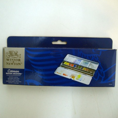 Caja acuarelas Sketchers Box 24 1/2godet - Winsor & Newton