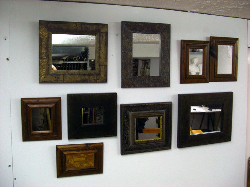 coleccion de espejos moldura outlet rebaja -50%
